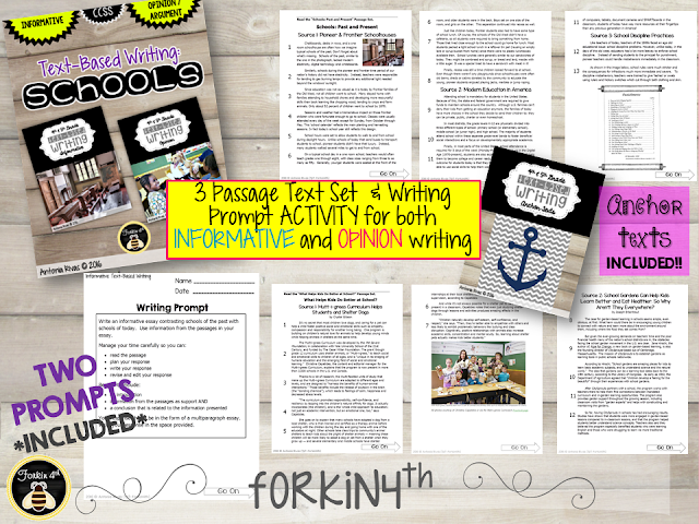 3rd Grade April Writing Prompts