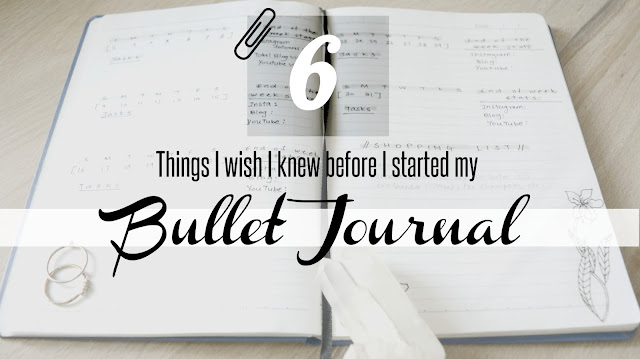 things you should know before you start your bullet journal