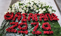 Μήνυμα αγάπης με ένα ιδιαίτερο στεφάνι από τη Ζωζώ Σαπουντζάκη στη Ζωή Λάσκαρη (φωτο)