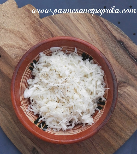 Chou blanc en salade serbie parmesan et paprika - Recette laurent mariotte aujourd hui ...