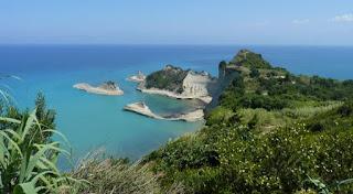 Isla de Corfú, Cabo Drastis.