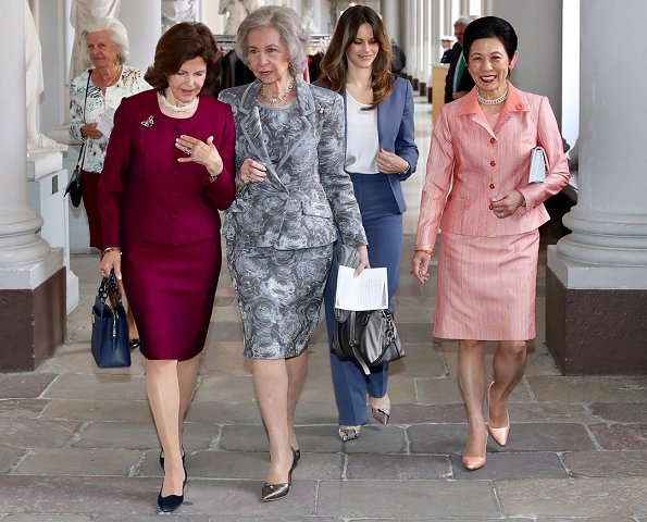 Queen Silvia, Princess Sofia, Queen Sofia and Princess Takamado