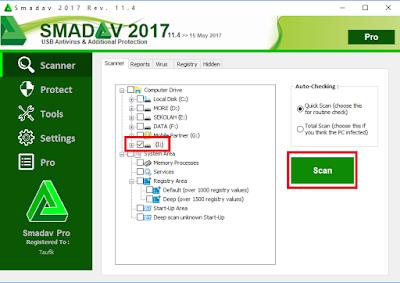 Cara Menghilangkan Virus di Flashdisk dengan Smadav