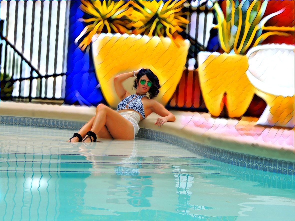 787c9b654b63e You know I can t go out without some jewelry pieces even when it comes to  the pool