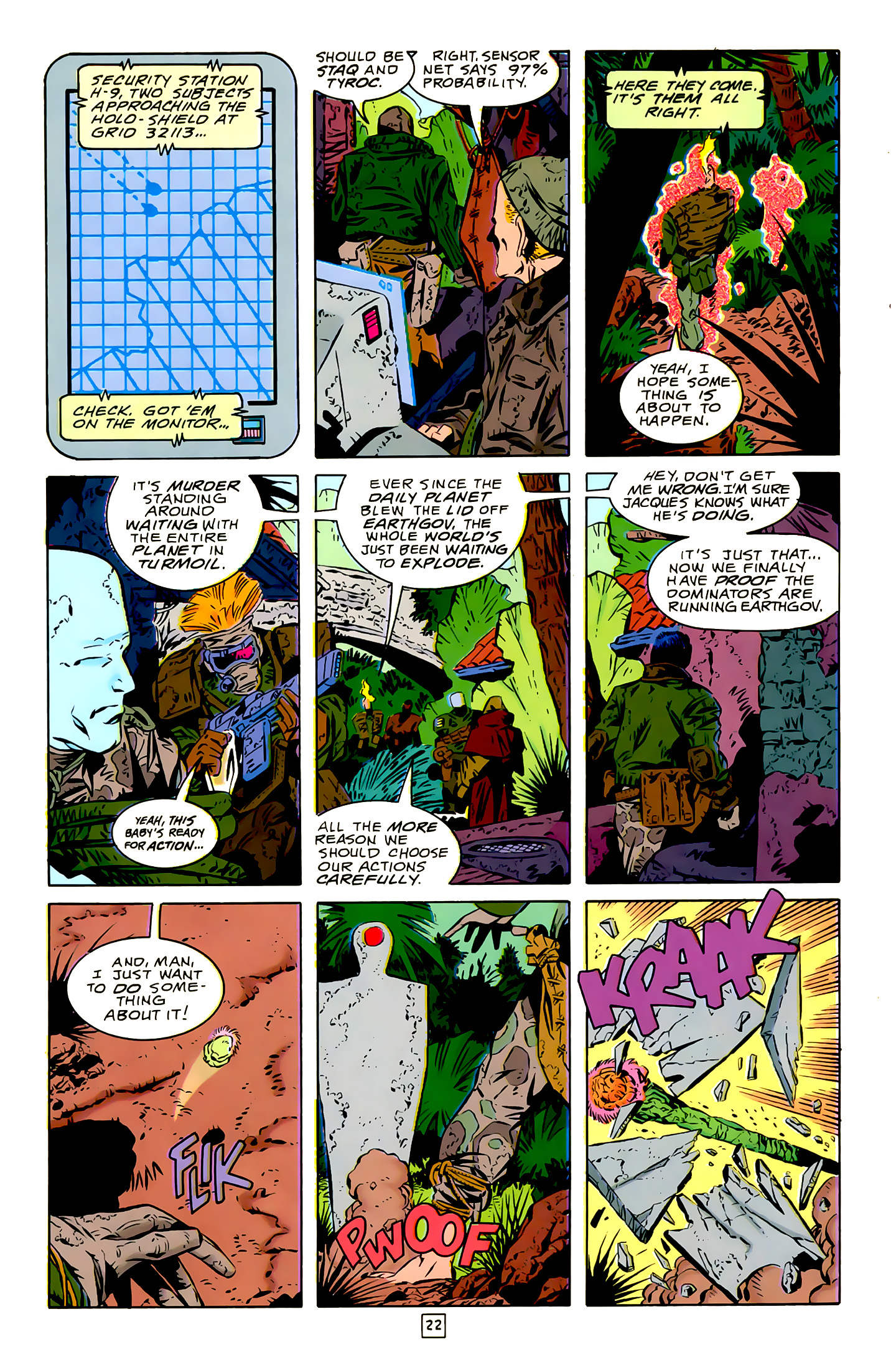 Legion of Super-Heroes (1989) 16 Page 22