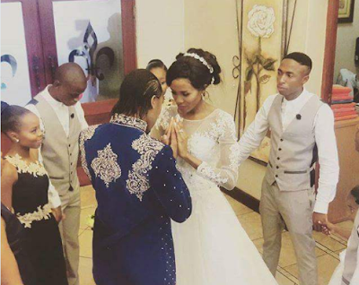 CA3 South African 800m Athlete Caster Semenya Ties The Knot With Another Female (Photos) Life style news