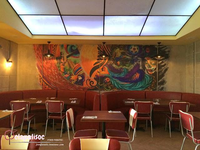 Naxional Diner Interiors