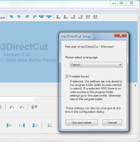 تحميل برنامج تقطيع الملفات الصوتية Mp3DirectCut