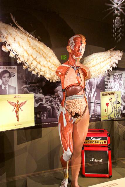 In Utero Angels at the EMP Museum in Seattle, WA