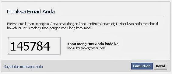 Cara Masuk Facebook Tanpa Kata Sandi / Lupa Password