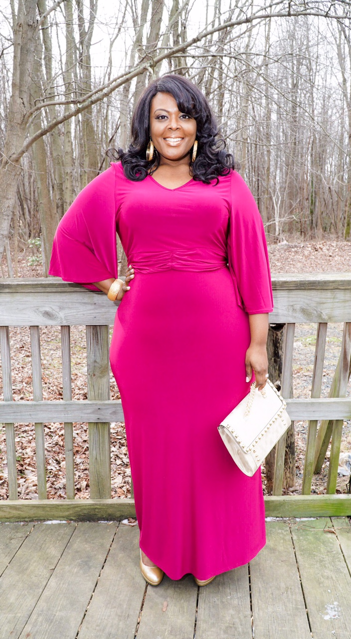 pink plus size dress, plus size pink dress