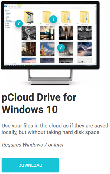 pCloud FREE download