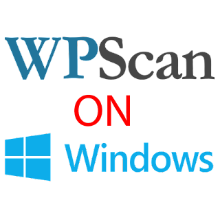 wpscan on windows