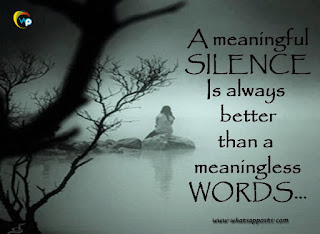 silence meaning
