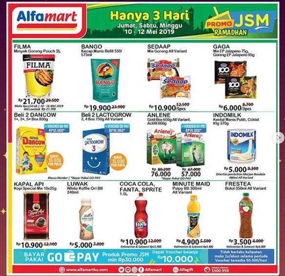 Promosi JSM Alfamart 10-12 Mei 2019