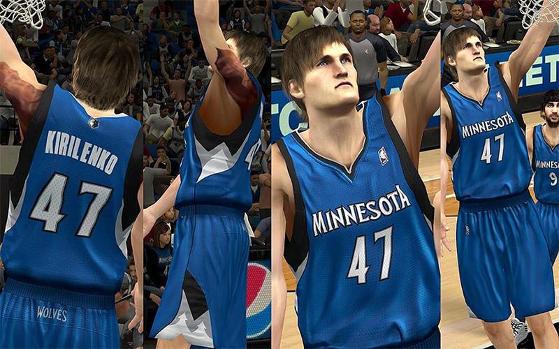 832bad51c21 ... NBA 2K13 Minnesota Timberwolves Jersey Pack ...