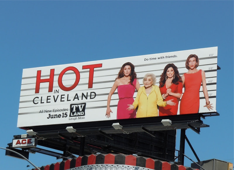 Hot in Cleveland Usual Suspects TV billboard