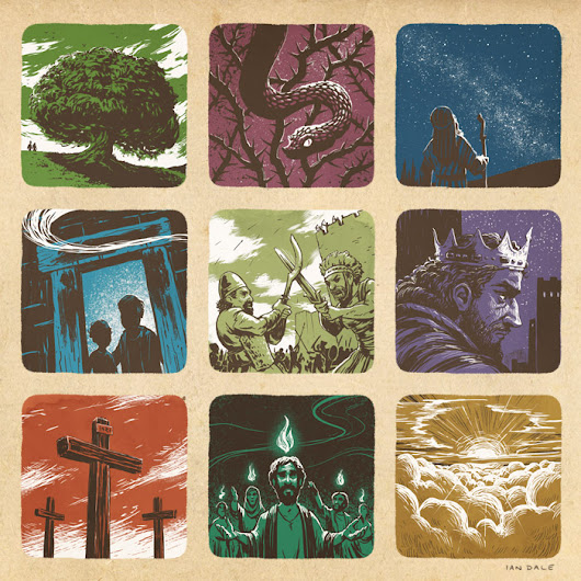 Epic Story - Bible Illustrations