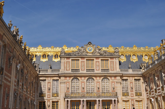Versailles Palace Notes from France - In the Footsteps of Marie-Antoinette, photo by modernbricabrac