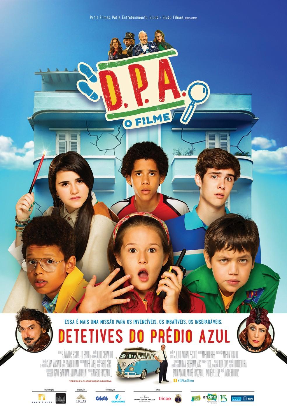 D.P.A. Os Detetives do Prédio Azul – O Filme Nacional