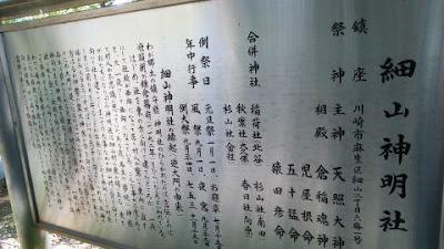 川崎市 細山神明社