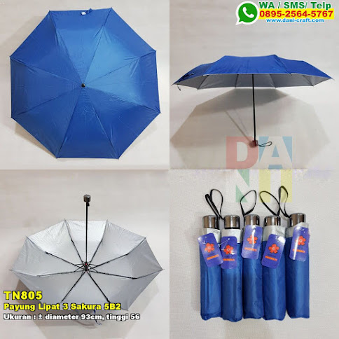 Payung Lipat 3 Sakura 5B2