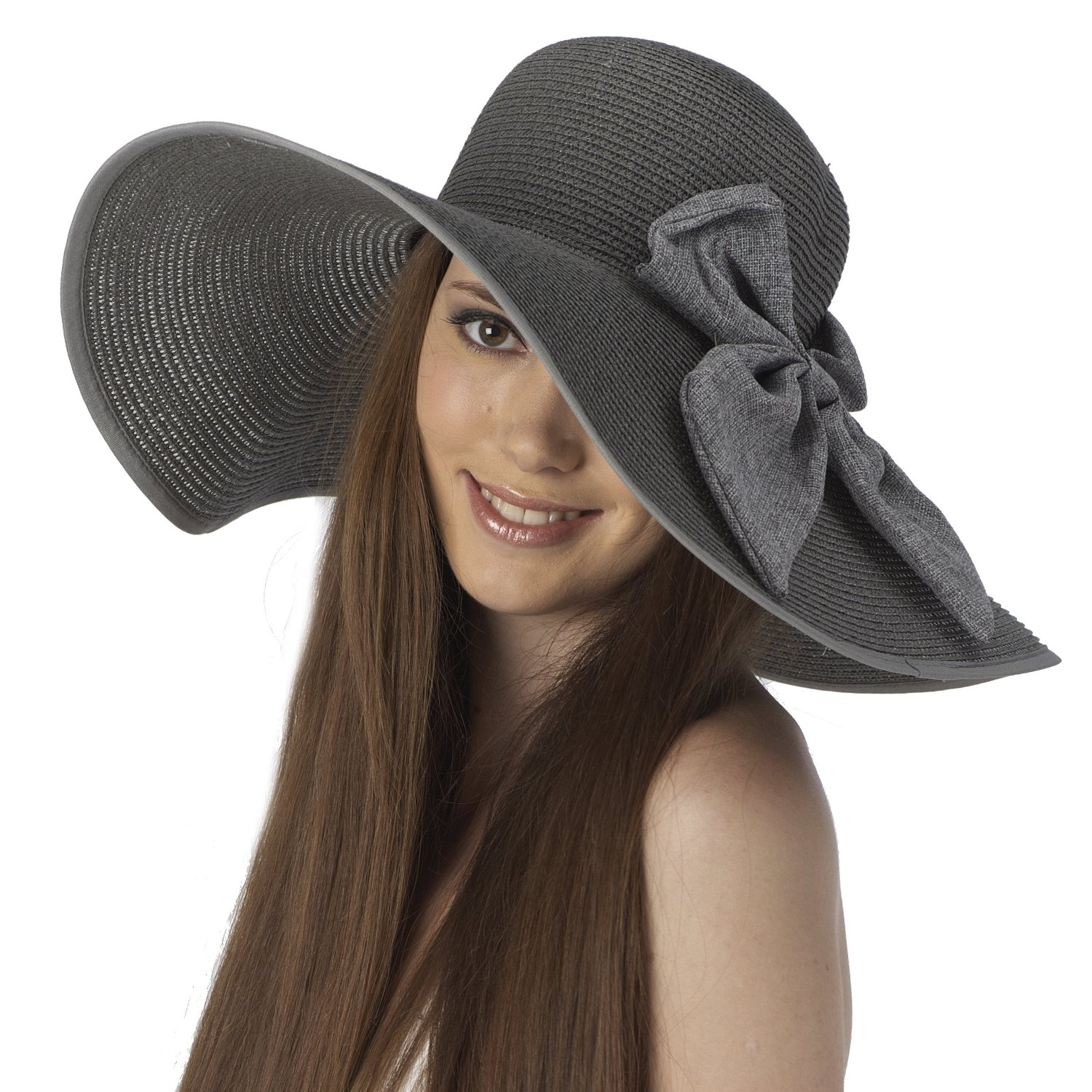 The Bali Ribbon Beach Hat is an oversized cotton/twill reversable beach hat. Featuring a