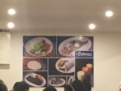 Behrouz Persian Cuisine in BF Homes, Parañaque City