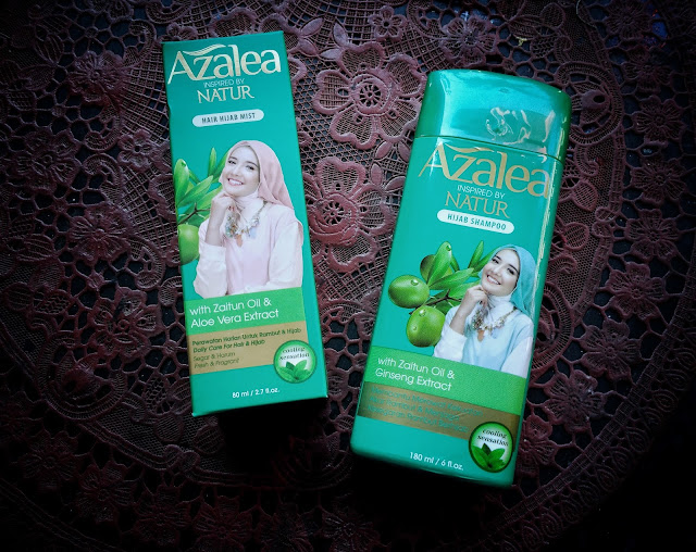 Azalea the real hijab hair care