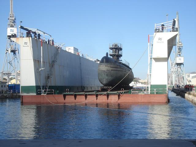 El Gobierno autoriza el gasto de 90 millones en la varada de buques de la Armada
