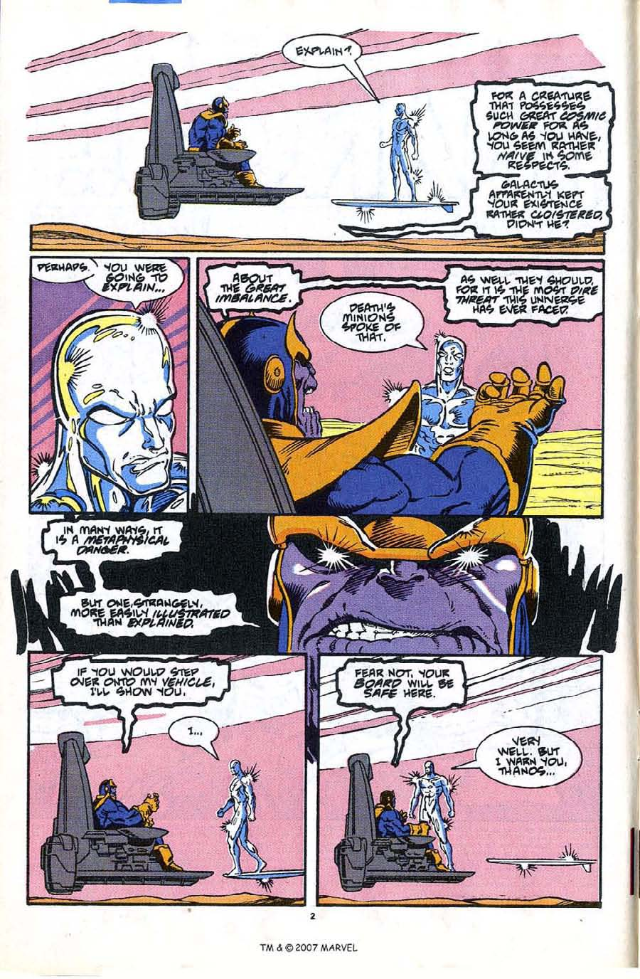 Read online Silver Surfer (1987) comic -  Issue #35 - 4