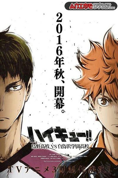 Haikyu!! 3rd Season (10/10) [Castellano/Japones] [BDrip 1080p]