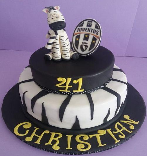 Foto Kue Ulang Tahun Juventus