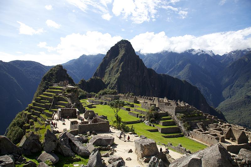 Turismo Mundial Machu Picchu Perù Maravilloso En Lo Alto