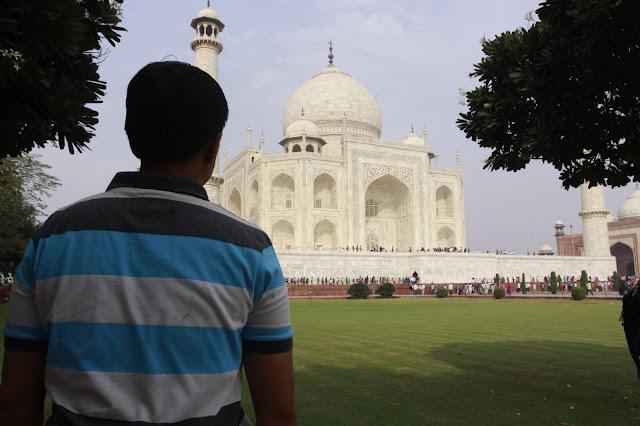 Icon negara India dari Kejauhan