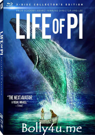 Life of Pi 2012 BRRip Hindi Dual Audio ORG 720p Watch Online Full Movie Download bolly4u
