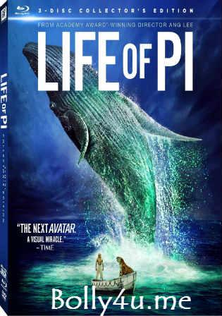 Life of Pi 2012 BRRip Hindi Dual Audio ORG 720p Watch Online Full Movie Download bolly4u