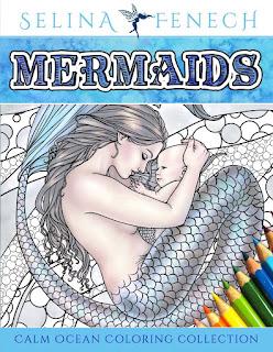 https://www.amazon.com/Mermaids-Coloring-Collection-Fantasy-Selina/dp/0994355408/