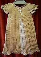 christening gown free crochet patterns-free vintage crochet patterns