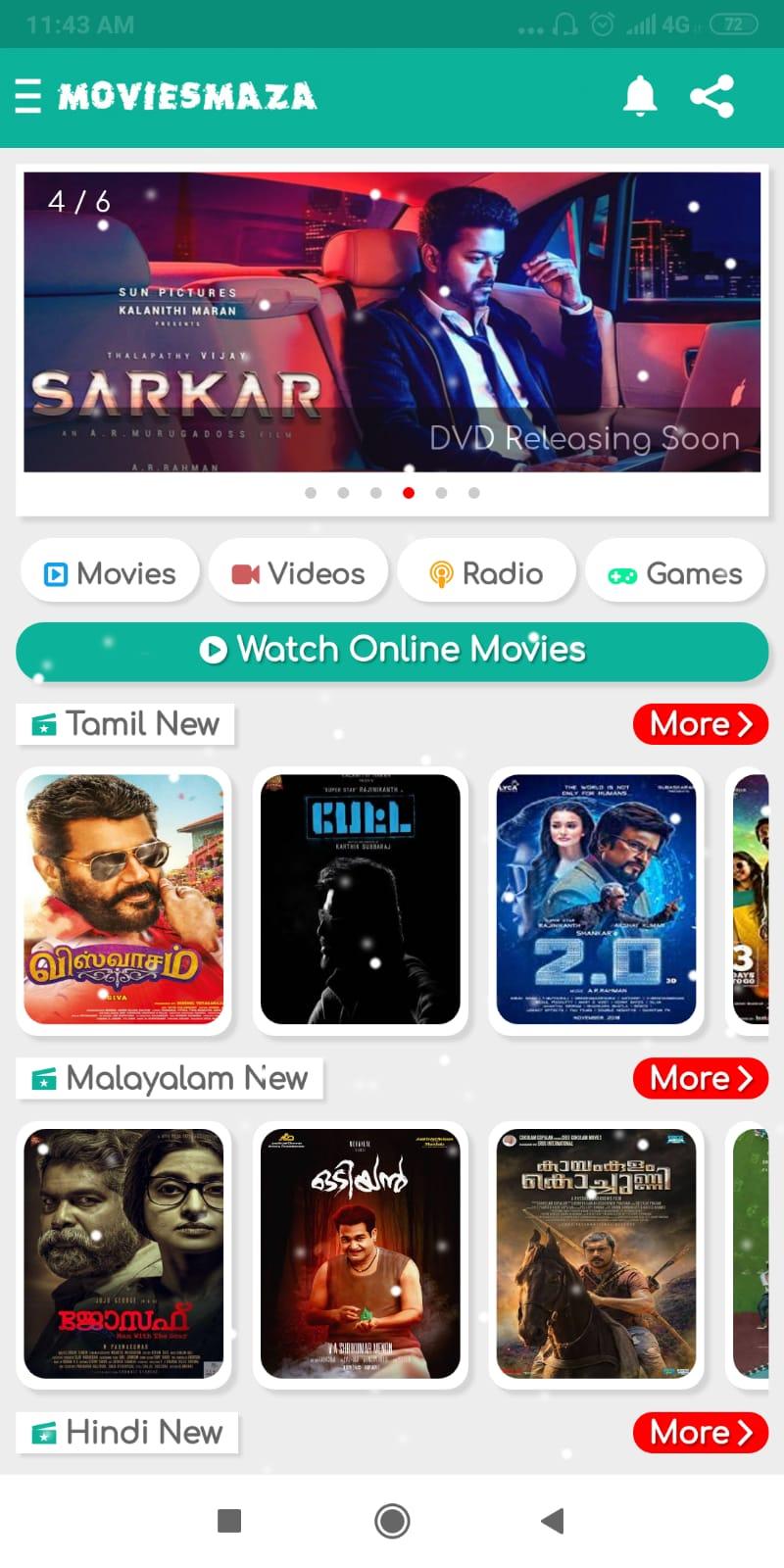 movie downloads app