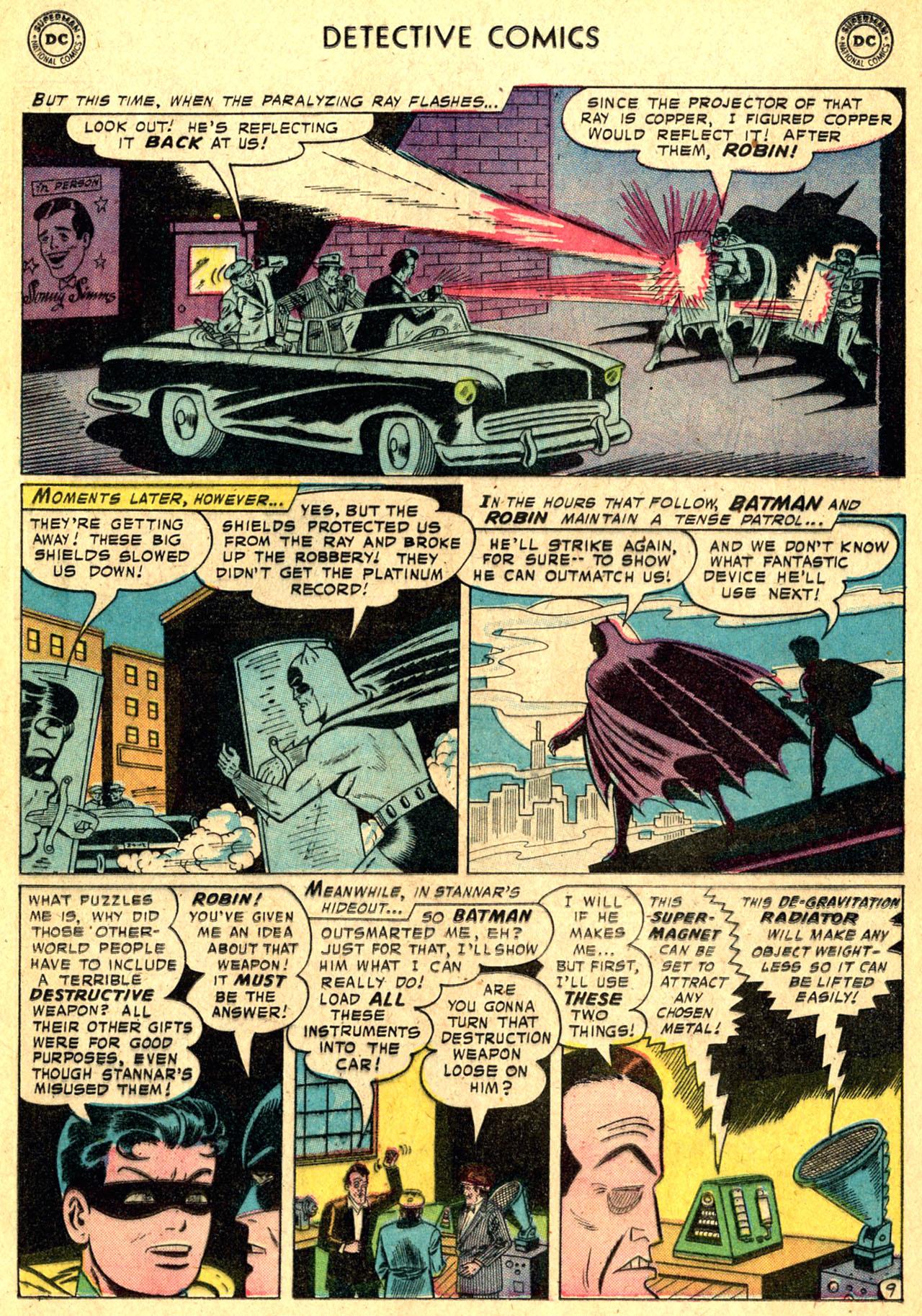 Read online Detective Comics (1937) comic -  Issue #250 - 11