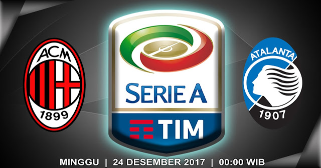 AC Milan vs Atalanta 24 Desember 2017