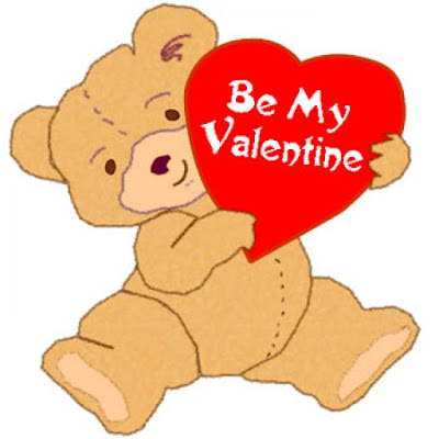 Teddy Valentines Day Clipart Images