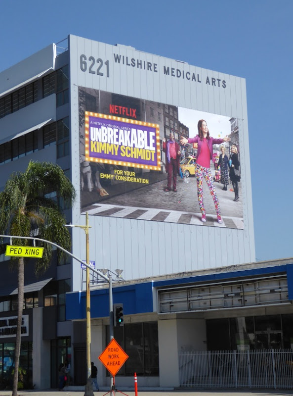 Giant Kimmy Schmidt season 2 Emmy FYC billboard