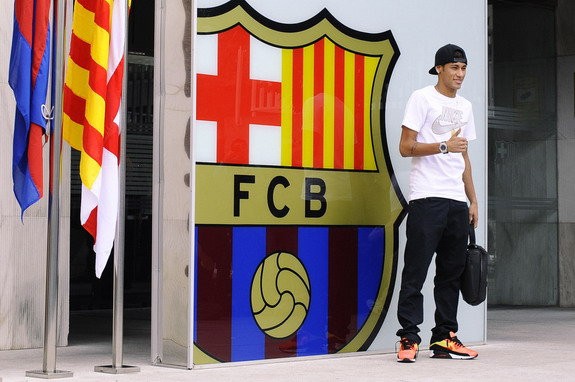 New Barcelona signing Neymar has been asked to gain some weight ahead of the new season