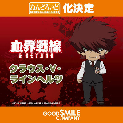 "Nendoroid de Klaus Von Reinherz de ""Kekkai Sensen & Beyond"" - Good Smile Company"