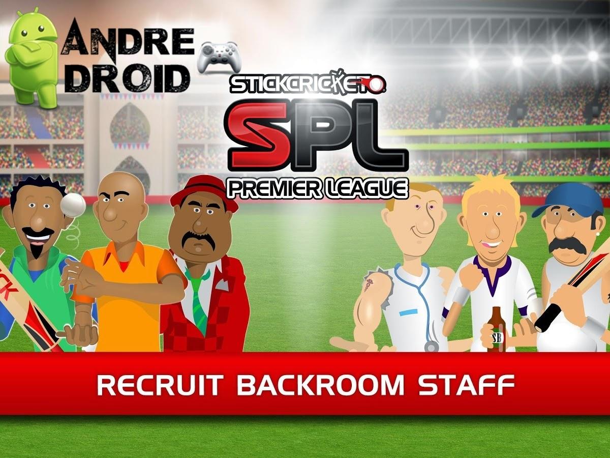 Stick cricket premier league 1 2 2 mod apk unlimited money andre