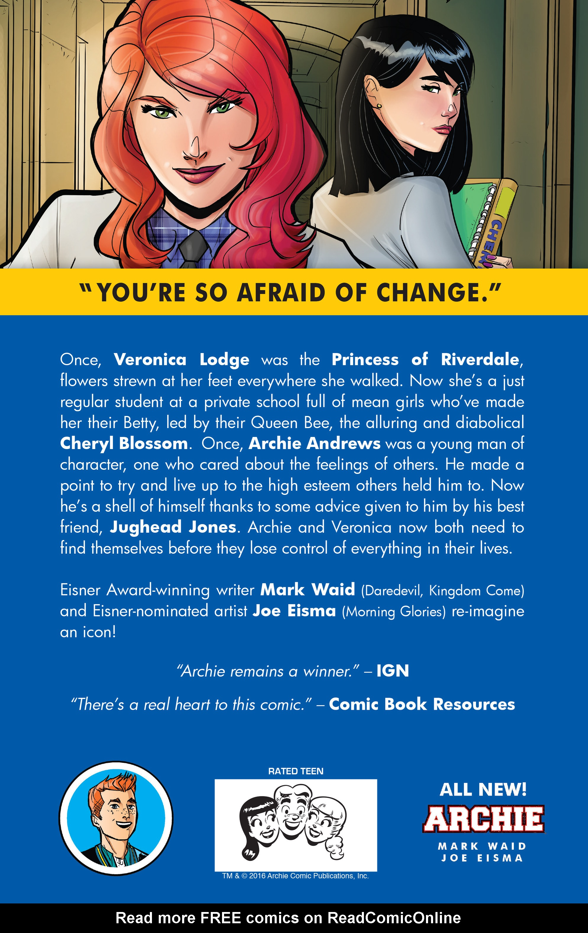 Read online Archie (2015) comic -  Issue #14 - 32