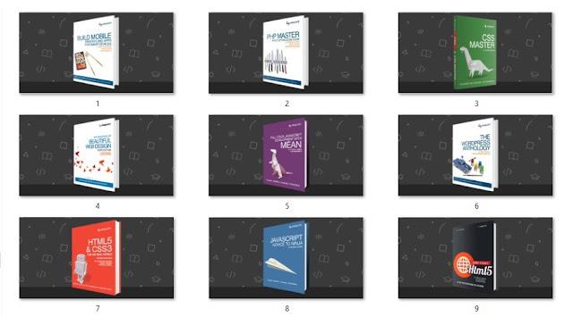 Screenshot 1 - 10 Ebook Gratis Untuk Berguru Web, Php, Javascript , Html5, Css3, Mobile Web, Wordpress