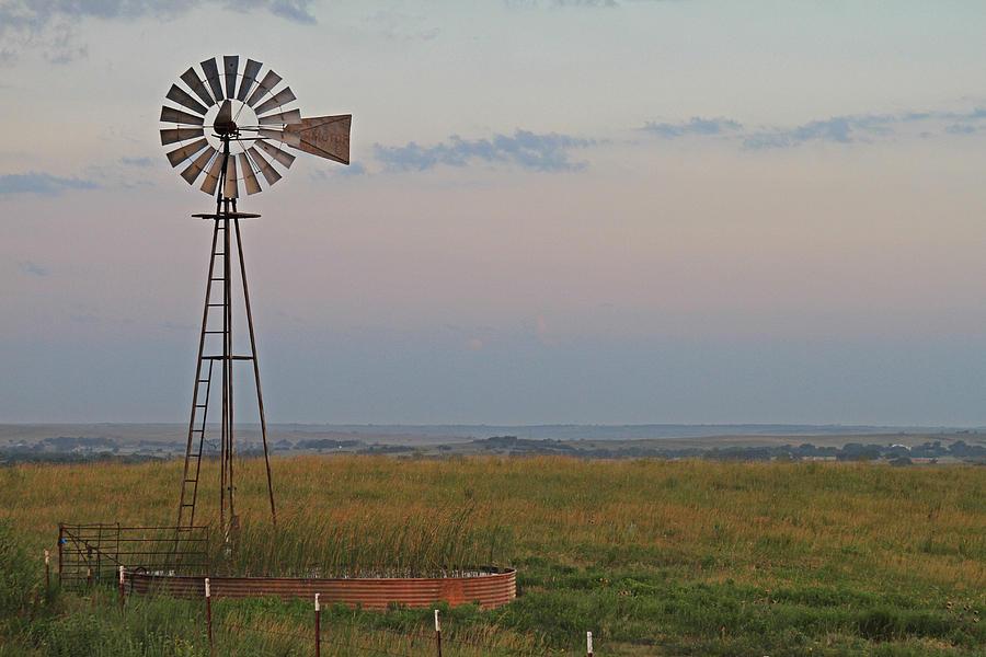 Énergie renouvelable : éolienne en agriculture